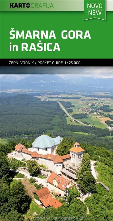 Zemljevid in vodnik 1:25.000 Šmarna gora, Rašica